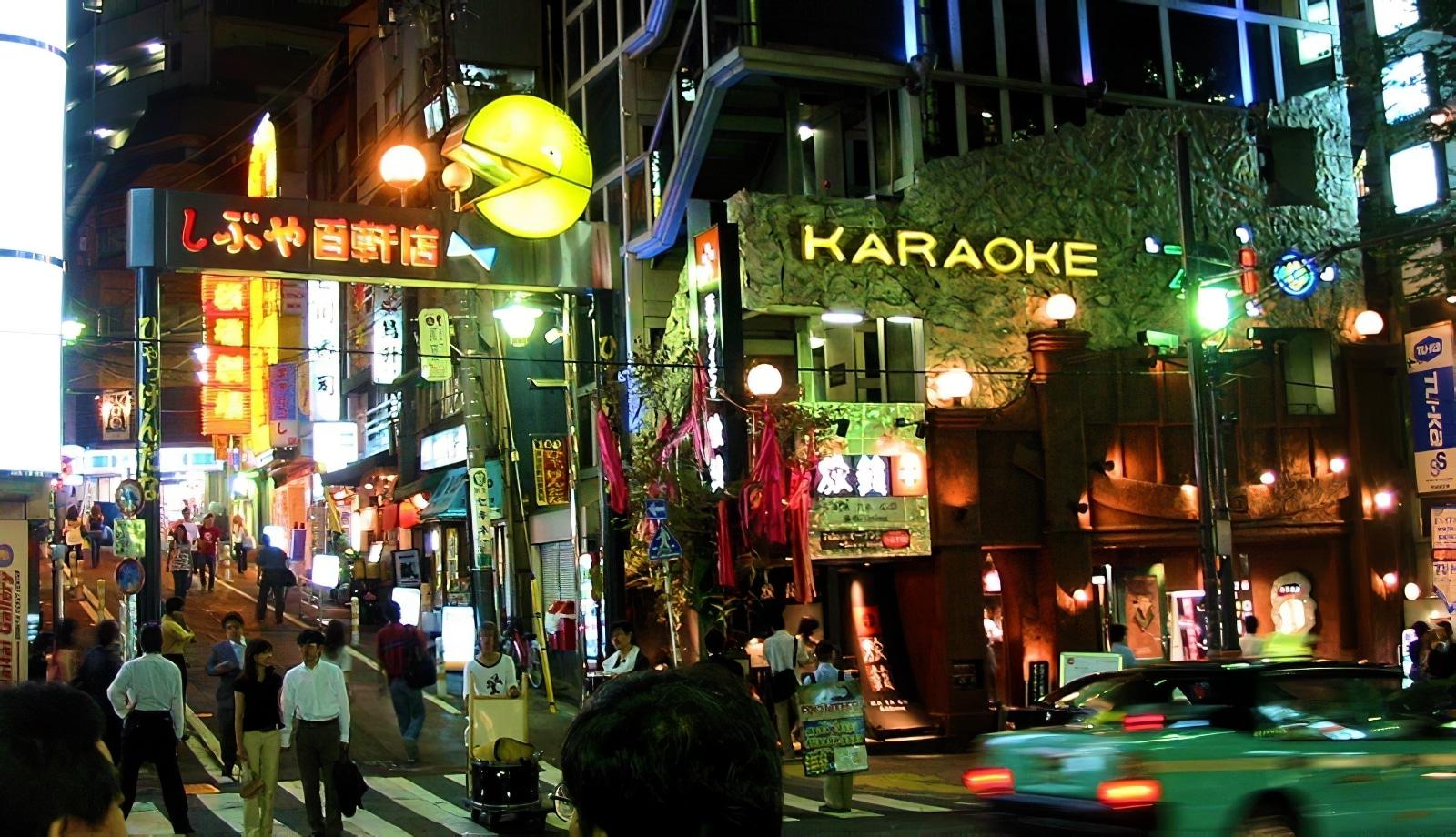 sortir à Tokyo, Vie nocturne
