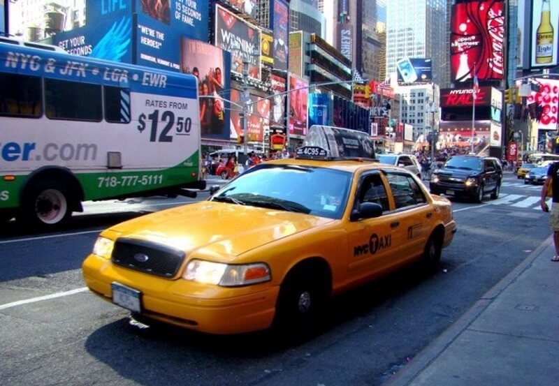 Taxi à New York, Sex and The City