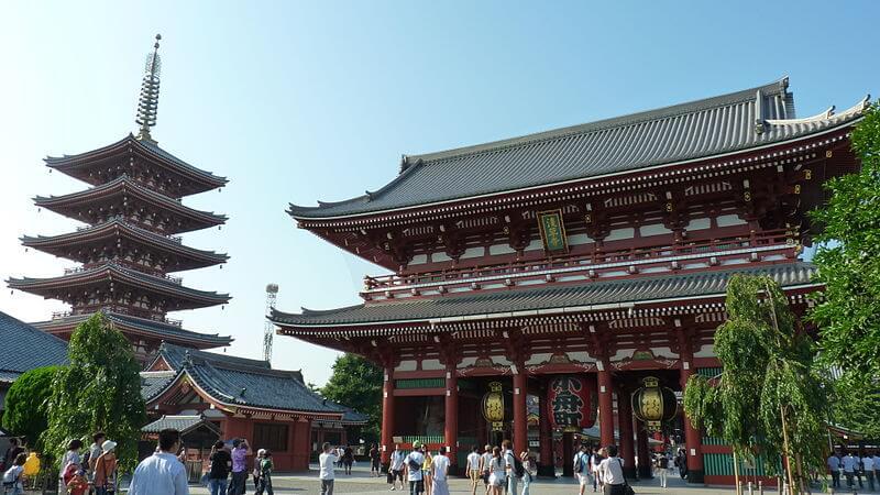 Temple Senso-Ji, Tokyo
