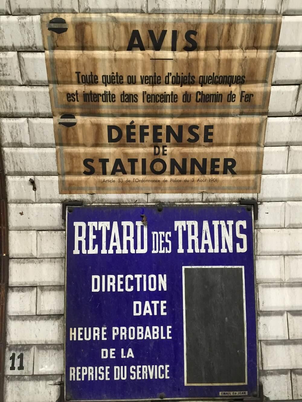 Train, Paris, metro