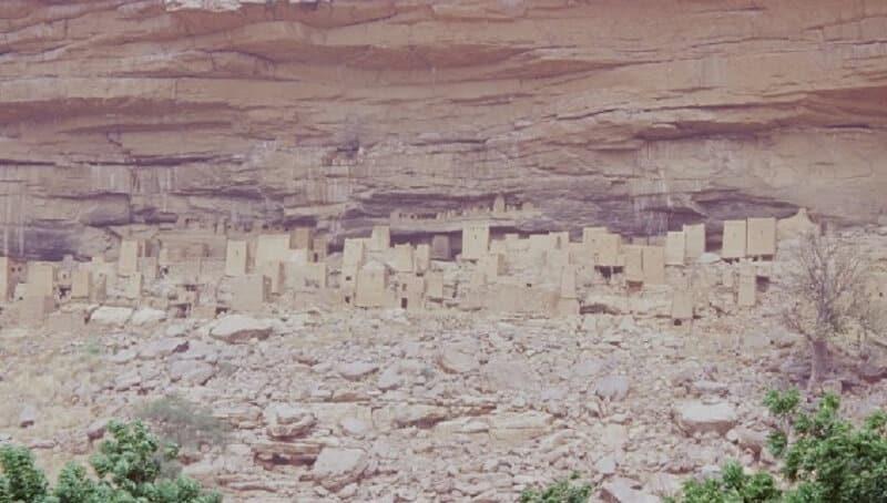 Village, Dogons, Rites funéraires