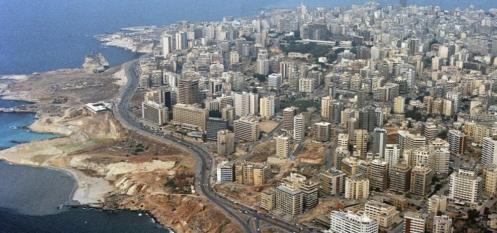 Vue aérienne, Beyrouth