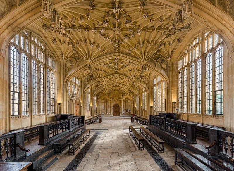 Bibliothèque Bodleian, université d'Oxford