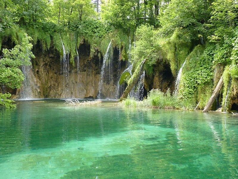 Les lacs du parc national Plitvice en Croatie