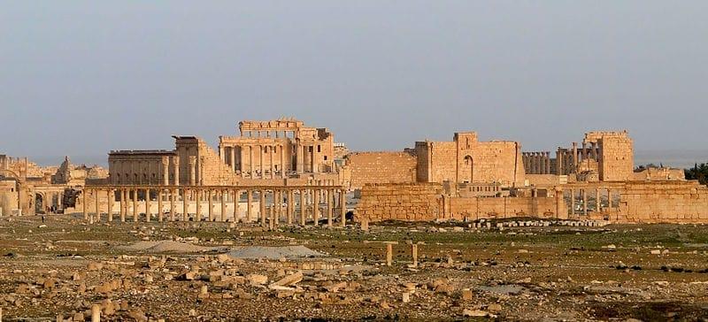 Site de Palmyre, Péril, Syrie