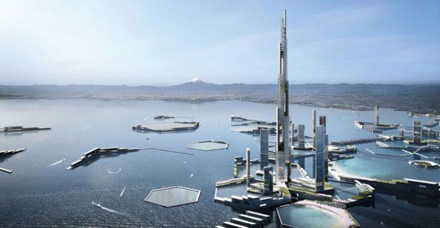 Sky Mile Tower: la plus haute tour du monde au Japon ?