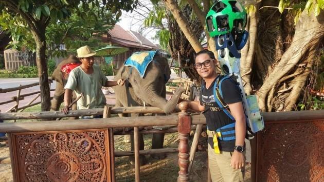 Il parcourt 500.000 km pour capturer les paysages de la Thaïlande pour Google Street View