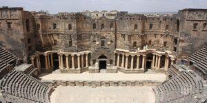 Théâtre romain, Bosra, Péril