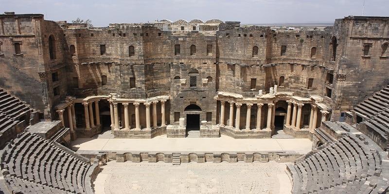 La liste du patrimoine mondial syrien en péril