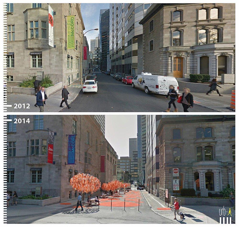 Transformation urbaine, Montréal