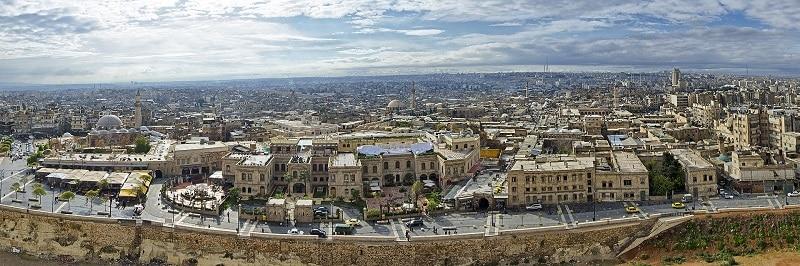 Vieille ville, Alep, Péril