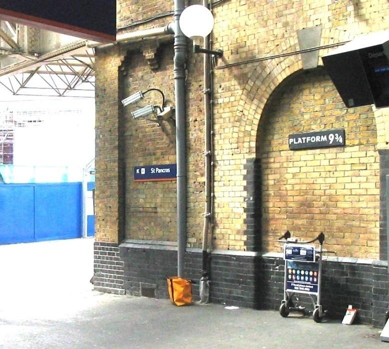 Voie 9 3/4 Harry Potter, Londres