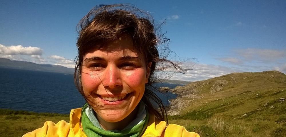 Alice Baude, Selfie, Voyage, Irlande