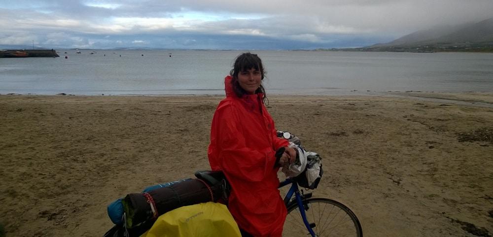 Alice Baude, Vélo, Pluie, Irlande