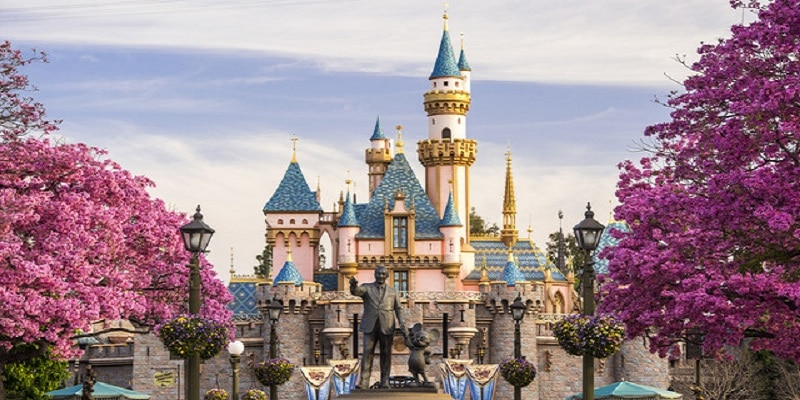 Château, Disneyland Park, Californie