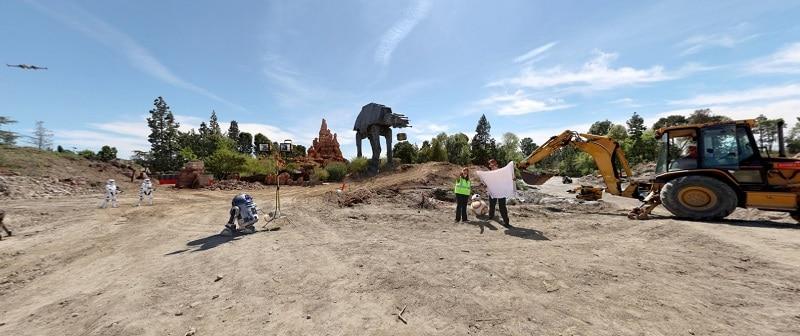 Construction, Parc, Star Wars Land