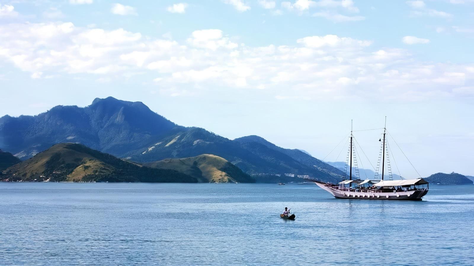 Une croisière d'une journée dans l'archipel d'Angra dos Reis depuis Rio