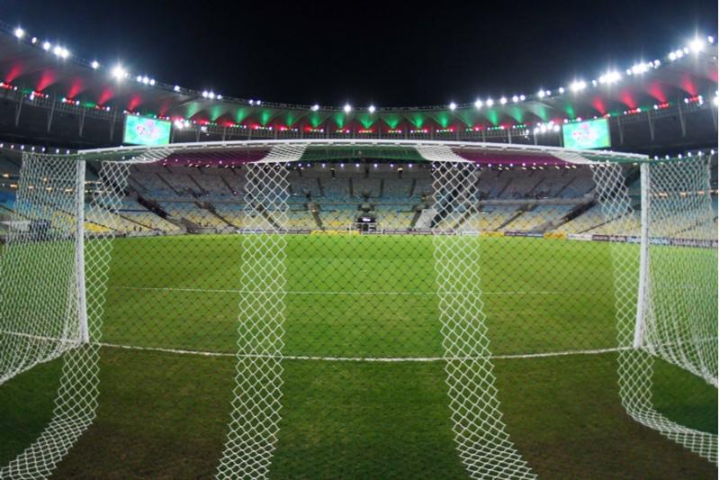 Cages, stade Maracanã, Rio
