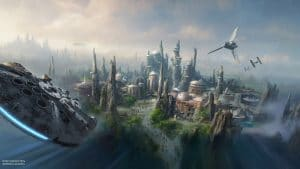 Parc d'attractions Star Wars Land, Disney