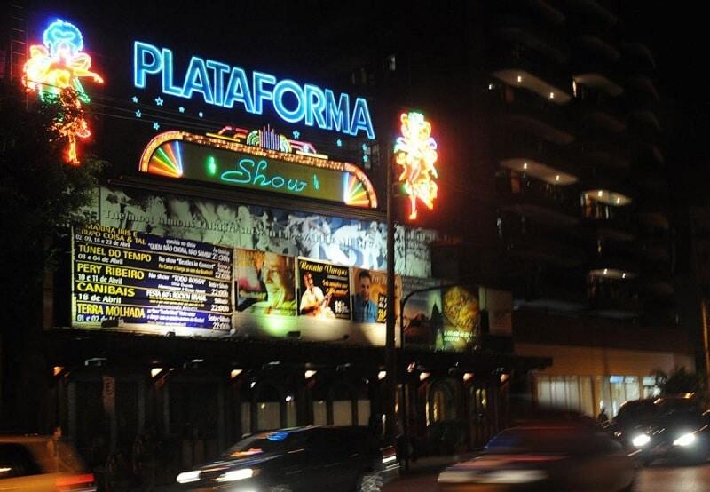 Plataforma Show à Rio