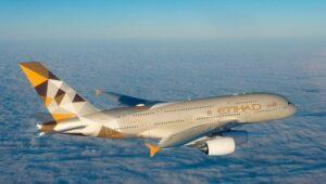 A380 de la compagnie Etihad Airways