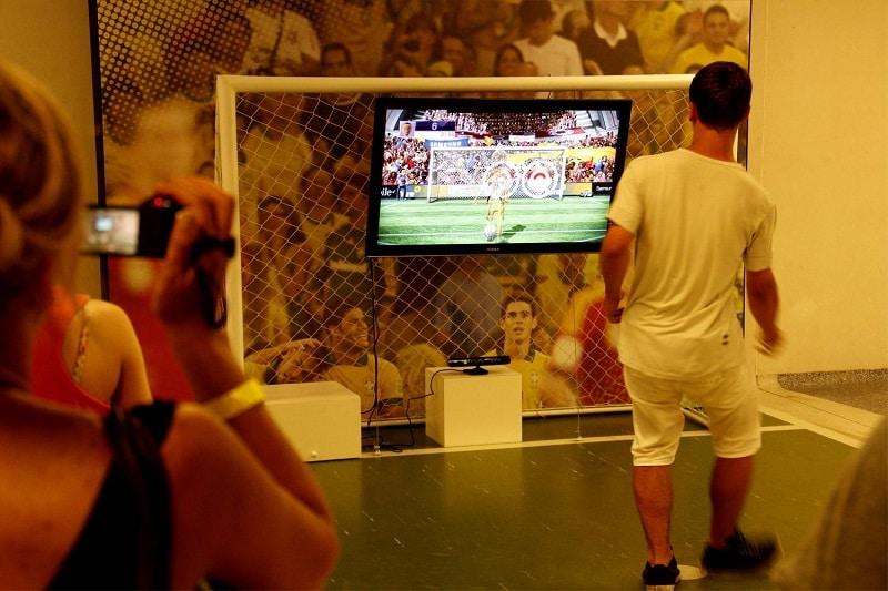 Jeu de simulation de tir au stade Maracana