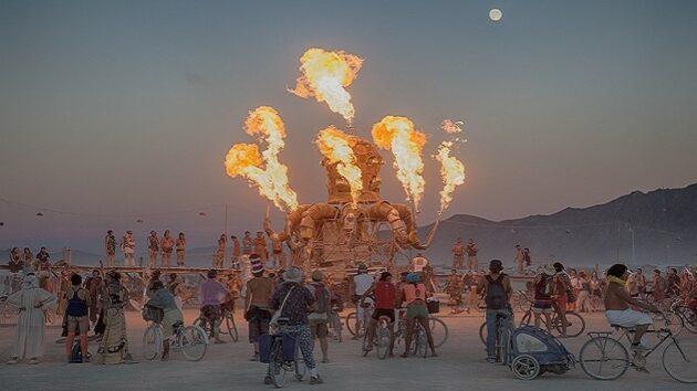 En 2016, le festival Burning Man s'invite en Europe