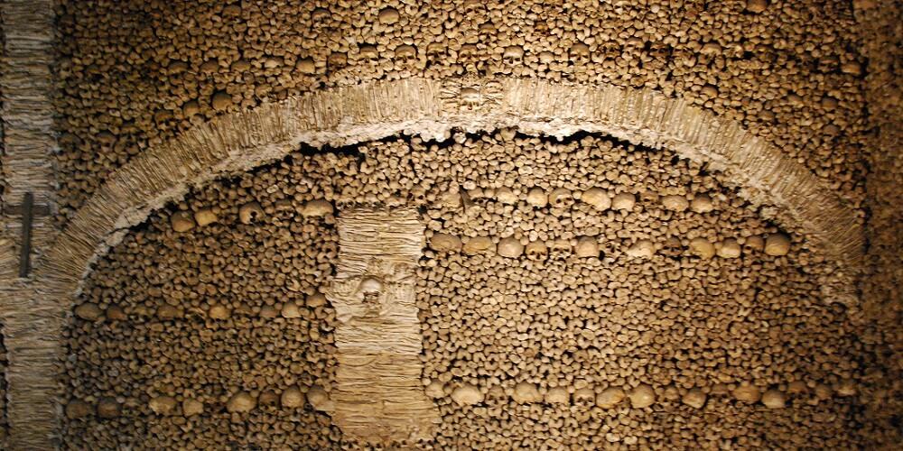 Chapelle, Crânes, Humains, Murs