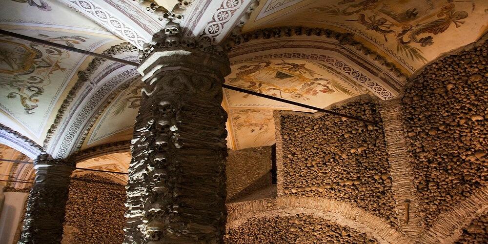 Chapelle, Os, Murs, Plafond