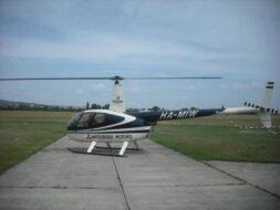 Hélicoptère à Budapest