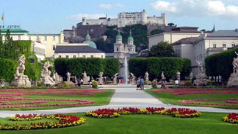 Jardin Mirabell, Salzburg