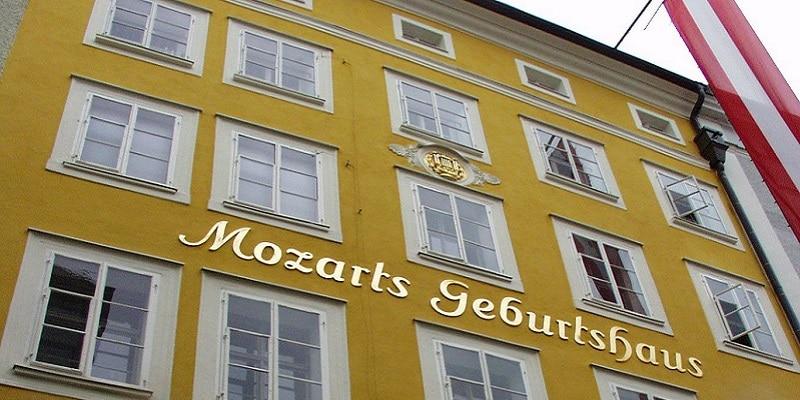 Maison natale, Mozart, Salzburg