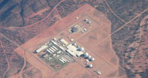 Pine Gap, Base souterraine