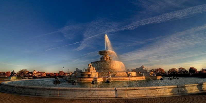 Scott Fountain, Belle Isle Park