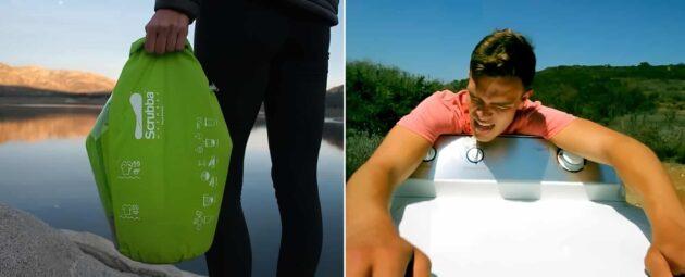 Scrubba Wash Bag, le sac pour laver vos vêtements en 30 secondes. Idéal en voyage !