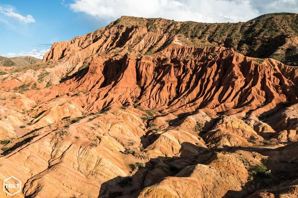 Skazka [fairy tale) canyon, Kyrgyzstan