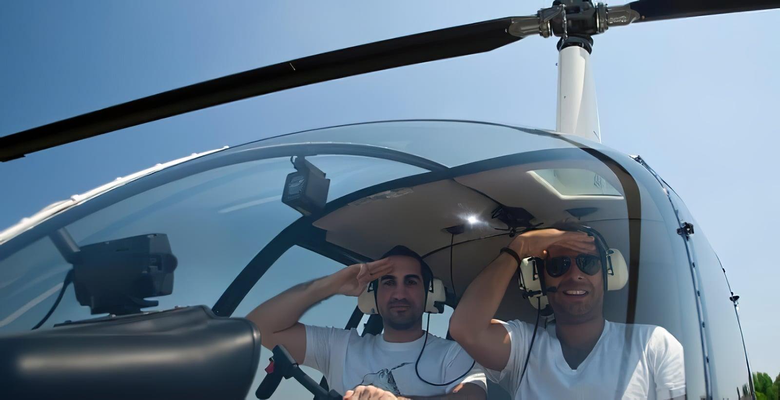 Survol en hélicoptère de Budapest