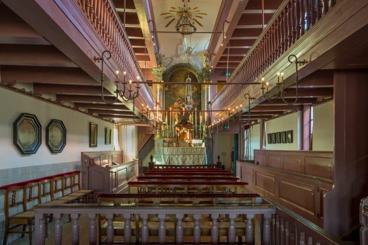 Intérieur de l'église Ons' Lieve Heer op Solder, Amstelkring, Amsterdam