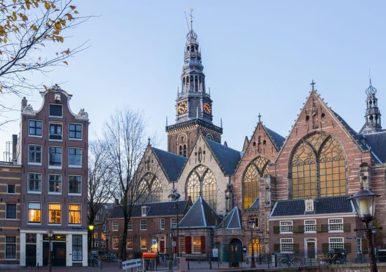 Vieille église d'Oude Kerk, Amtserdam