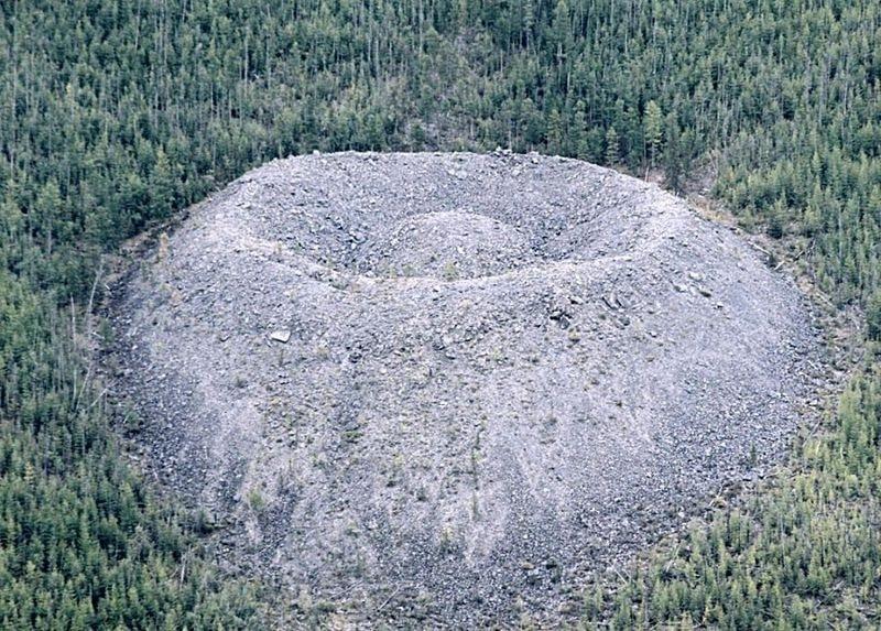 Cratère Patomsky, Russie