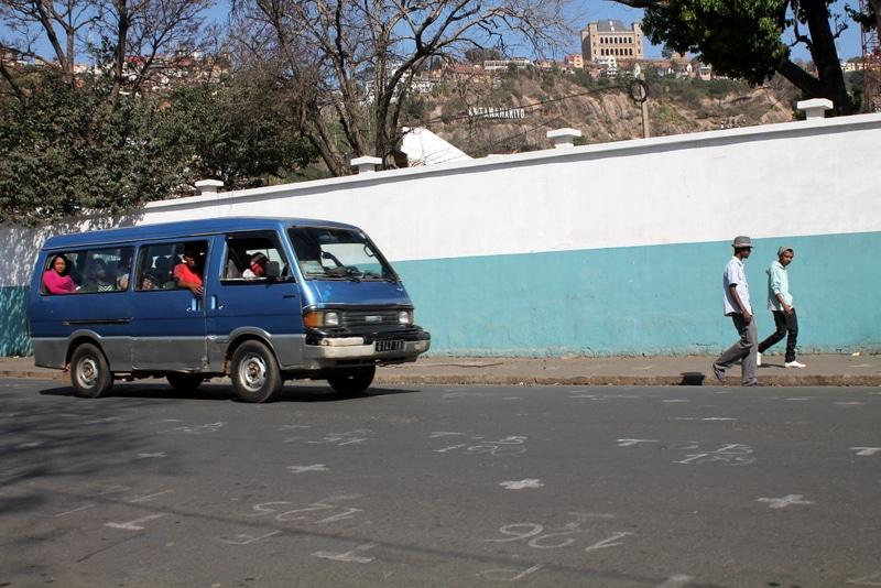Minibus, taxi-be, Antananarivo