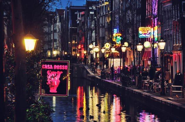 Guide du Quartier Rouge à Amsterdam