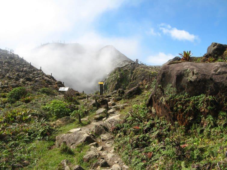 Volcan de la Soufrière
