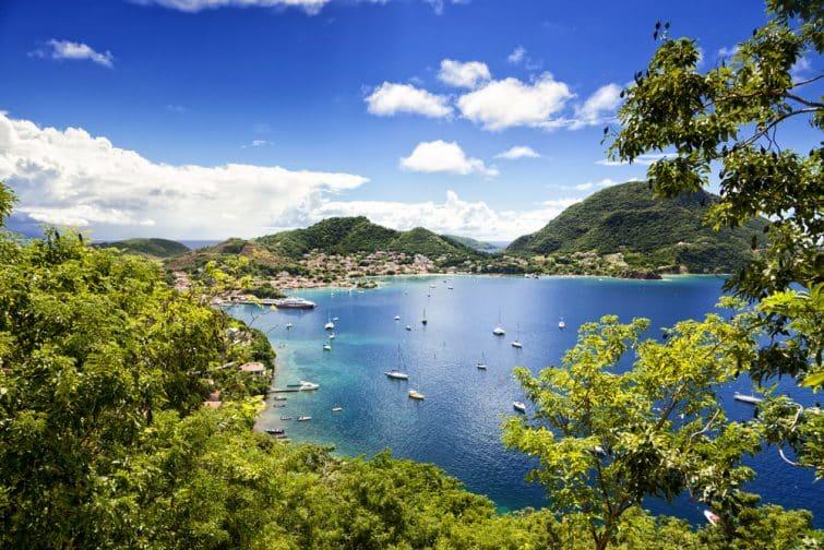Vue de Terre-de-Haut, Guadeloupe