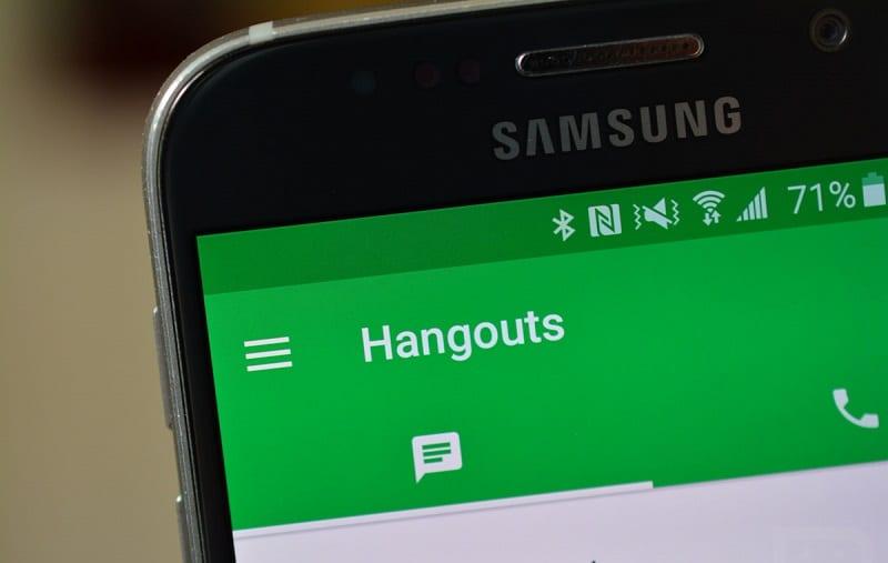 Hangouts, messagerie instantanée