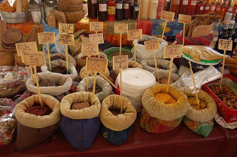 Marché d'épices, Pointe-à-Pitre
