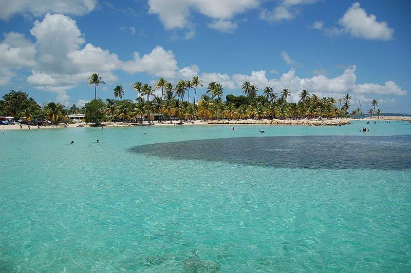 Plage à Saint-Anne, Grande-Terre, Guadeloupe