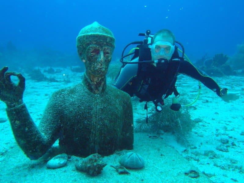Réserve Cousteau, plongée Guadeloupe