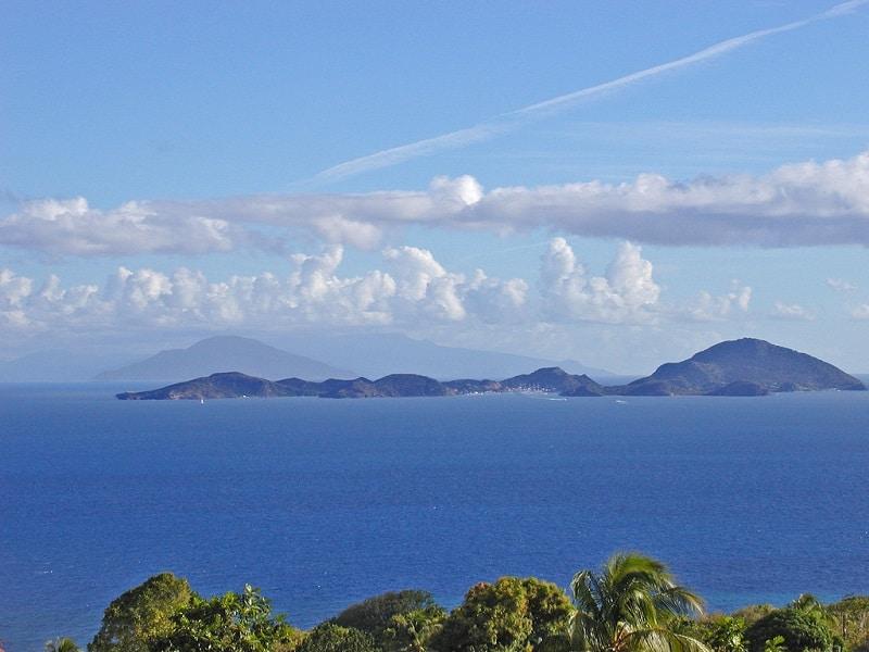 Photo de l'île de Terre-de-Bas, Guadeloupe