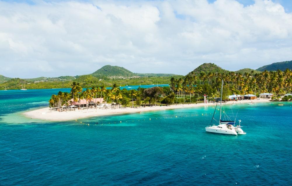 Une balade en bateau en Martinique